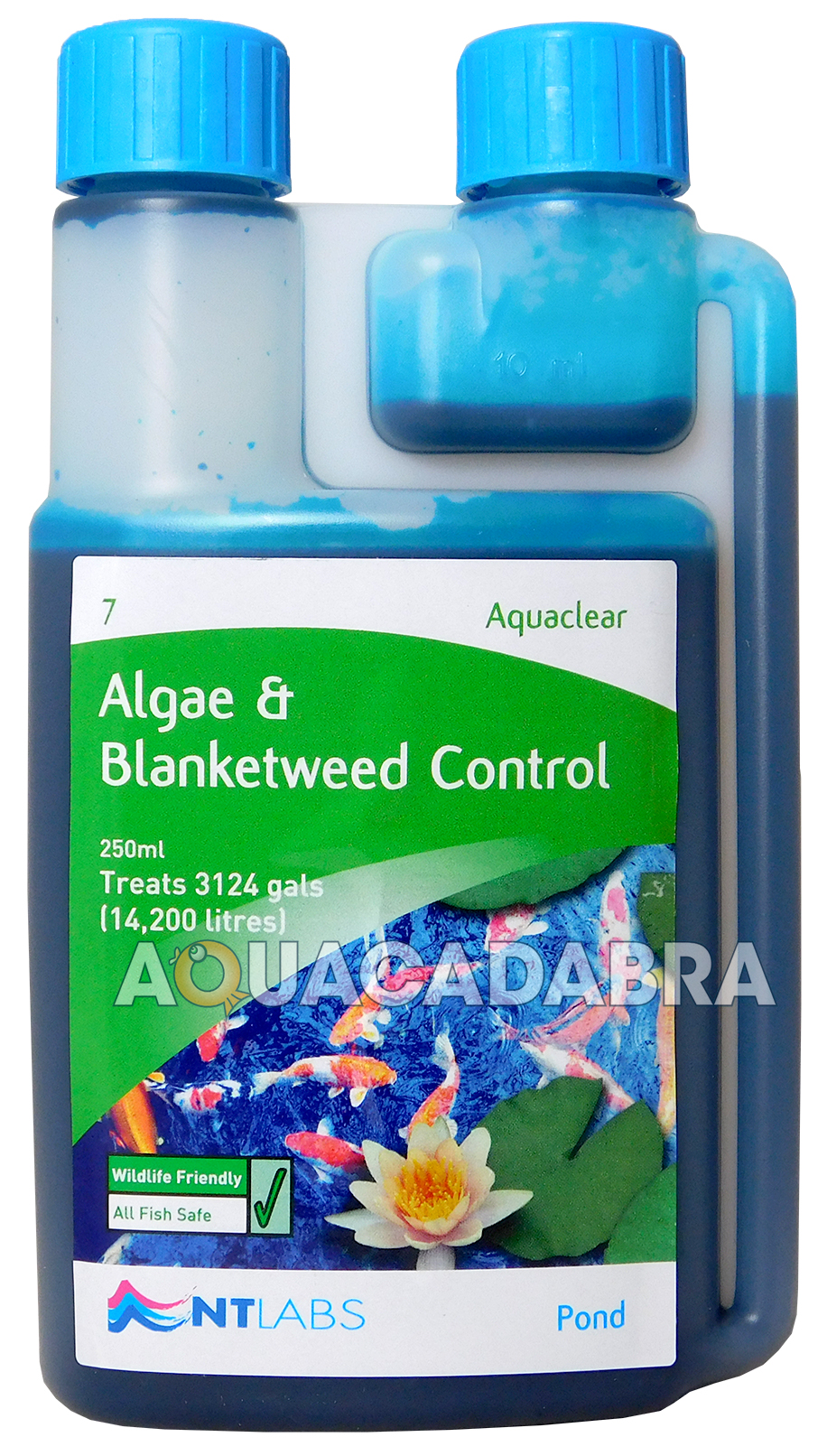 Nt labs aquaclear algae blanketweed control garden fish for Koi pond algae control