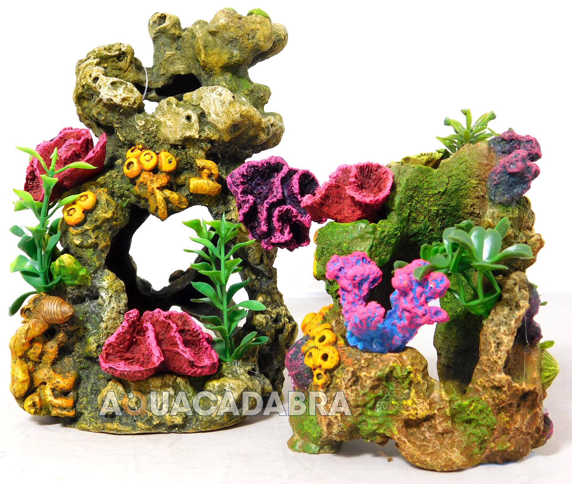 Classic coral biorb reef ornaments aquarium decoration for Aquarium decoration sealant