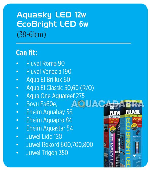 Fluval aquasky colour remote led lighting fish tank aquarium strip fluval aquasky colour remote led lighting fish tank mozeypictures Gallery