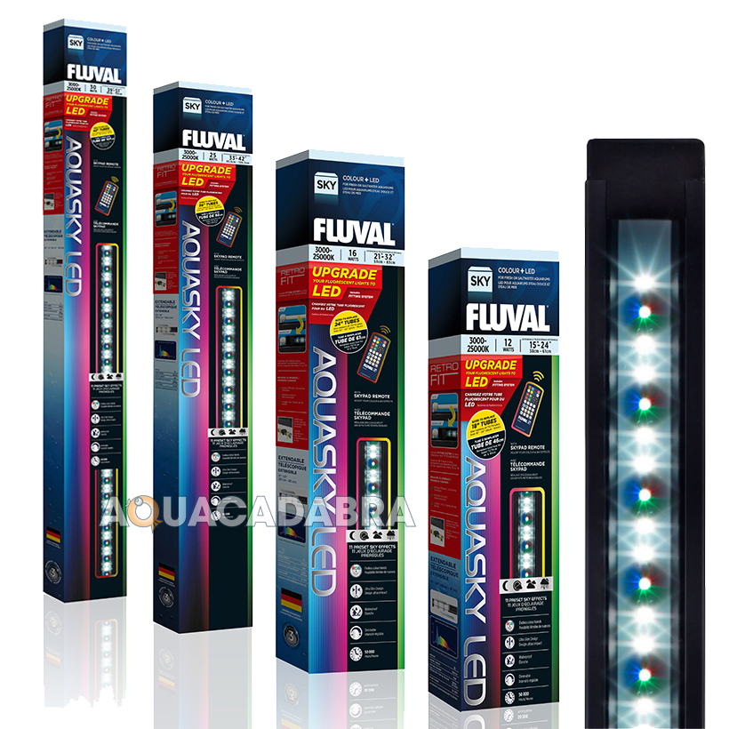Fluval Aquasky Colour Remote Led Lighting Fish Tank