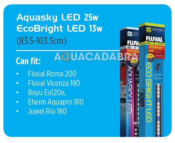 Fluval Aquasky Colour Remote Led Lighting Fish Tank