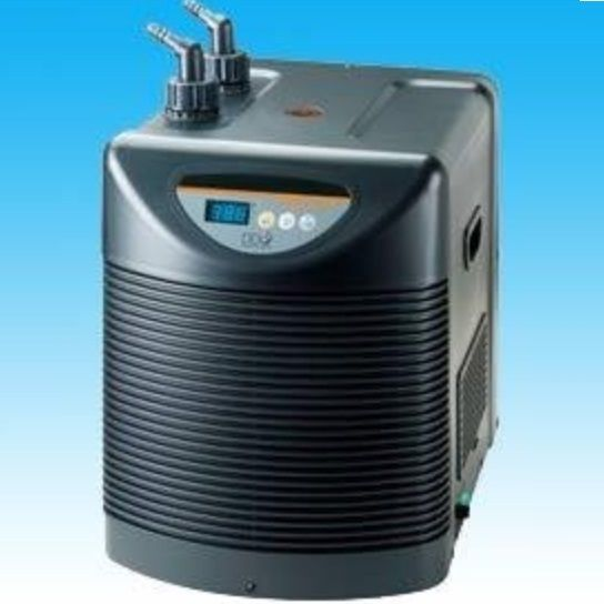 D d dc750 fish tank water refrigerated cooler chiller for Fish tank water cooler