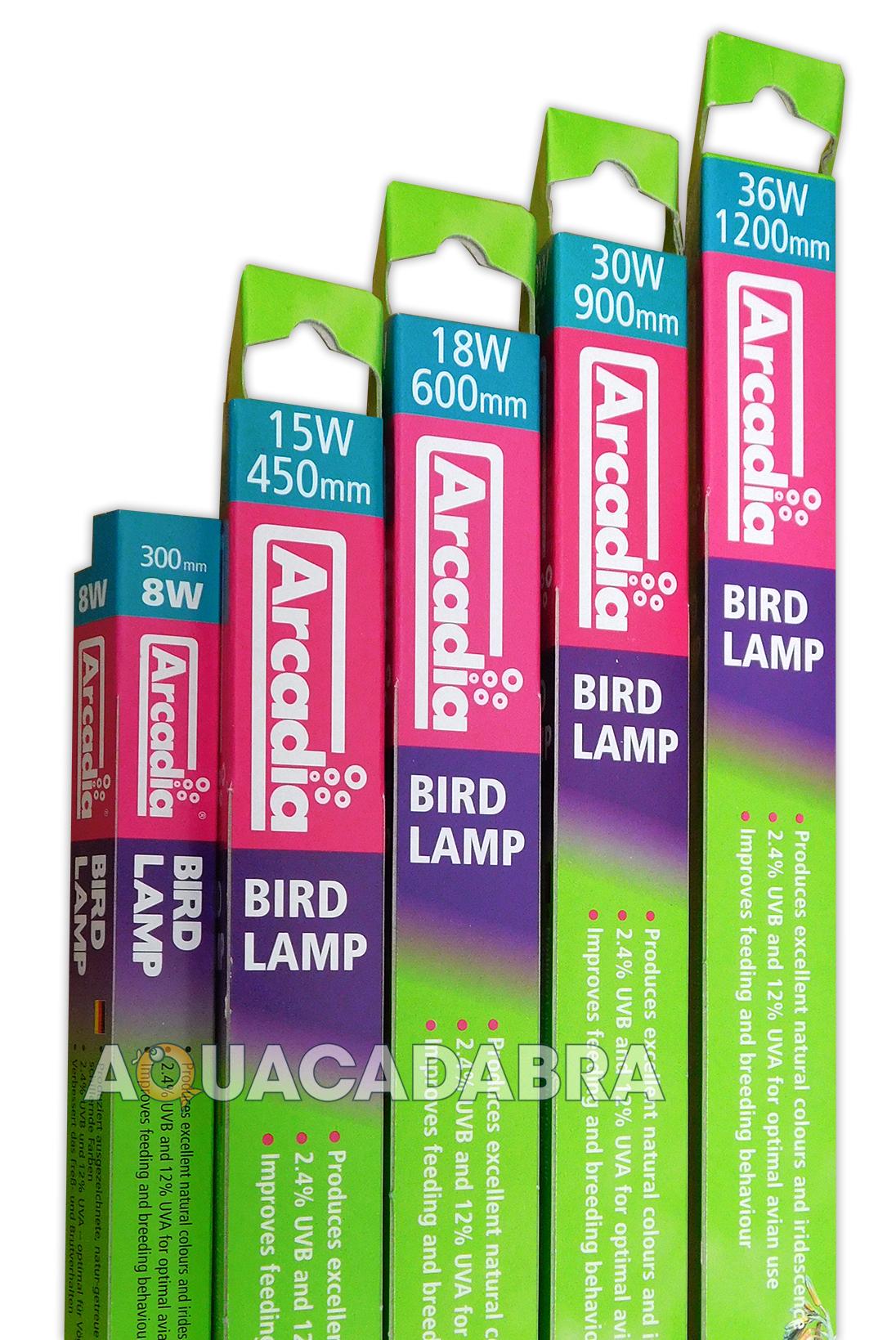 Arcadia Bird Lamp E27 Compact T5 T8 Light Tube Uvb Uva