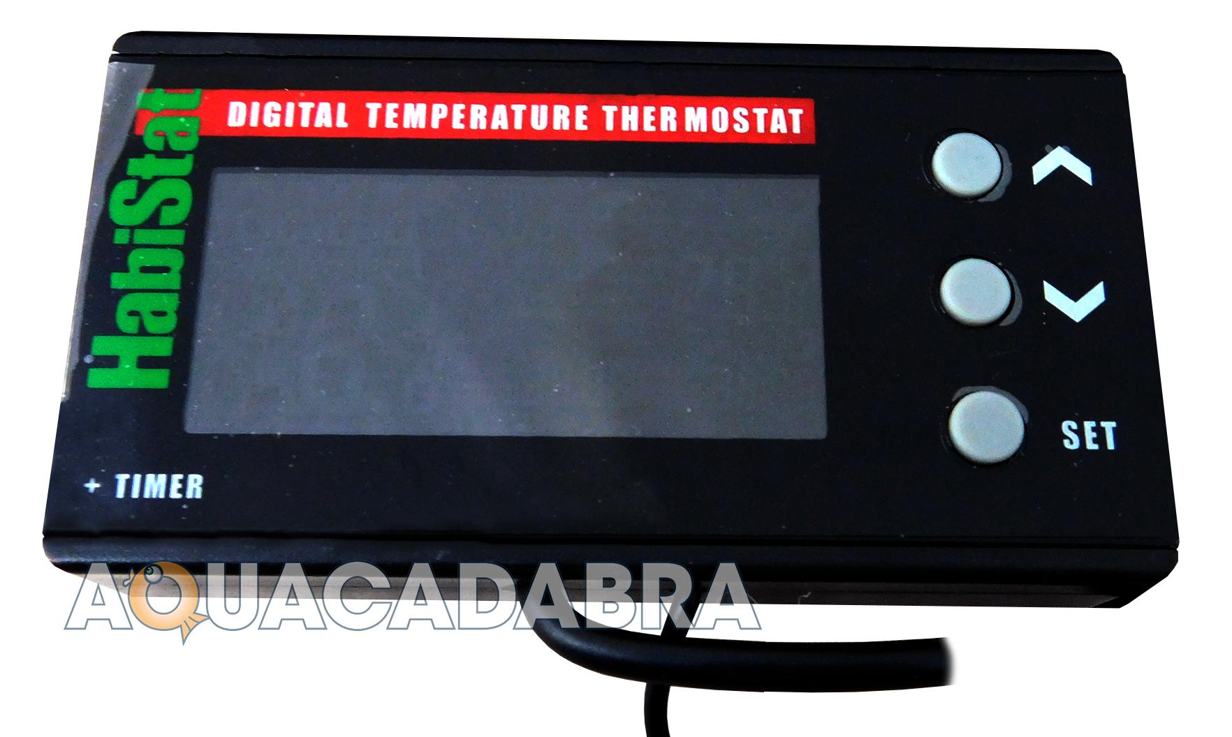 Habistat Digital Thermostats Heater Temperature Day Night