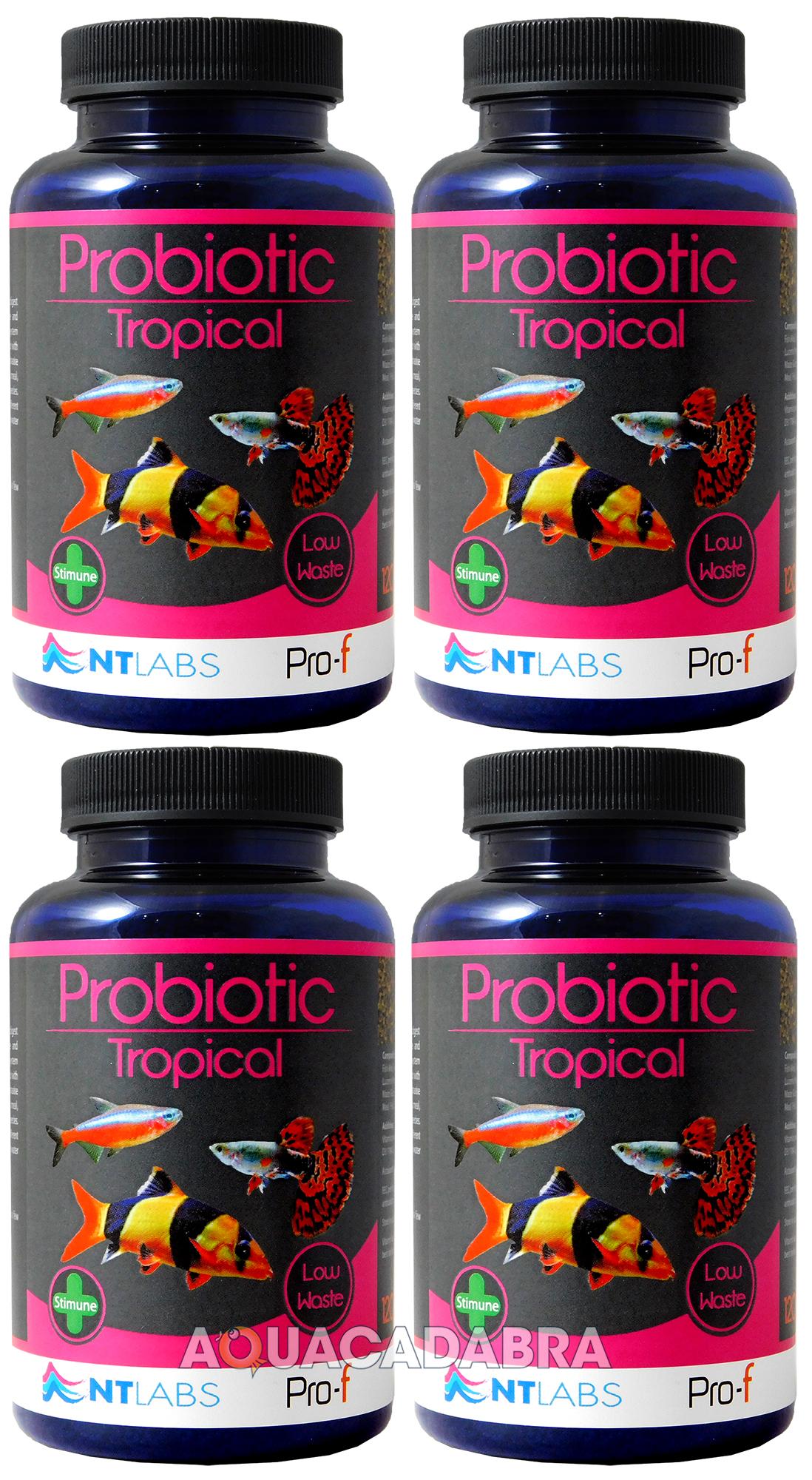Nt Labs Tropical Fish Food Probiotic Clean Water Aquarium