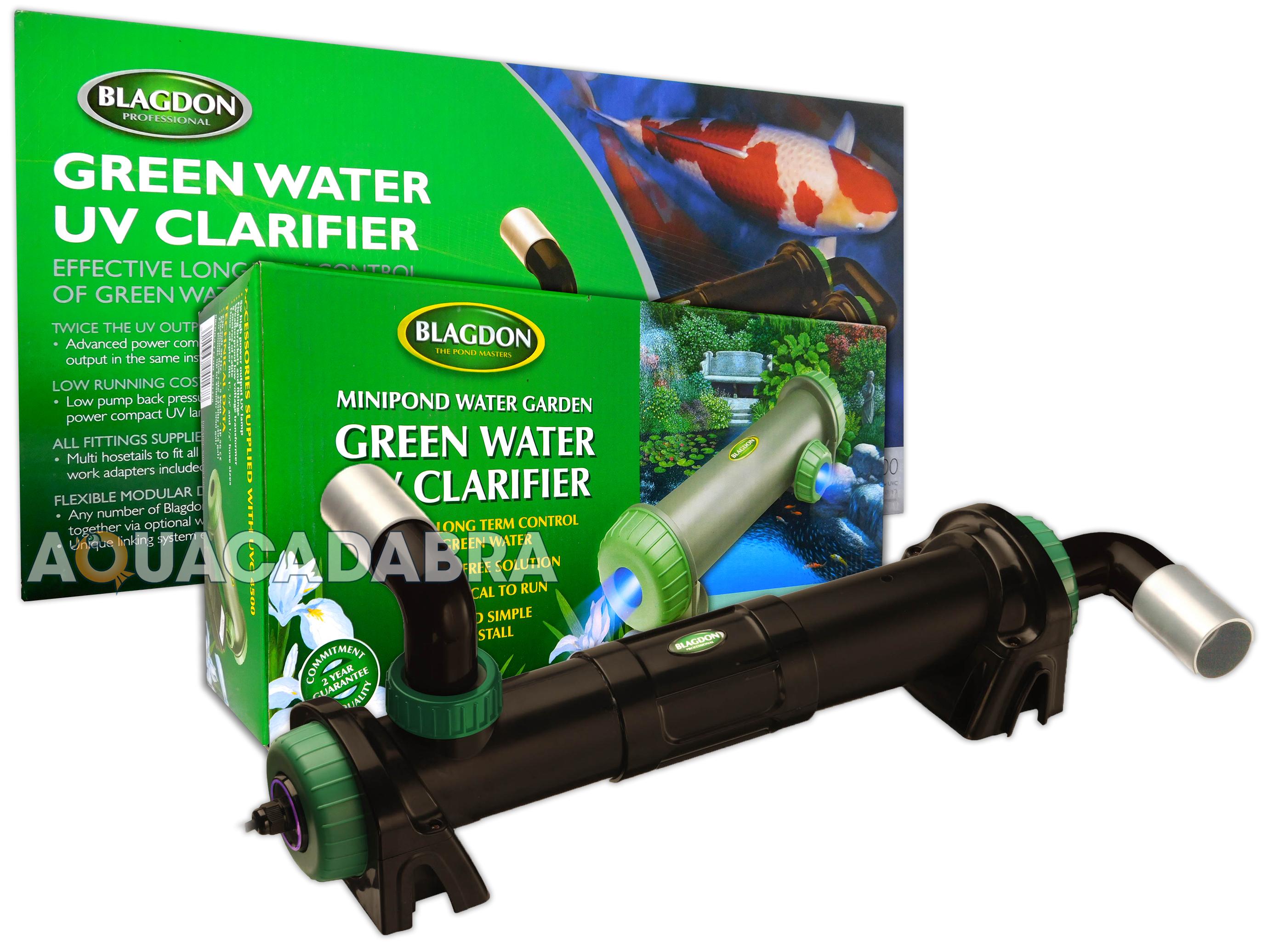 Blagdon pro mod uvc filter uv pond water steriliser for Uv pond light installation