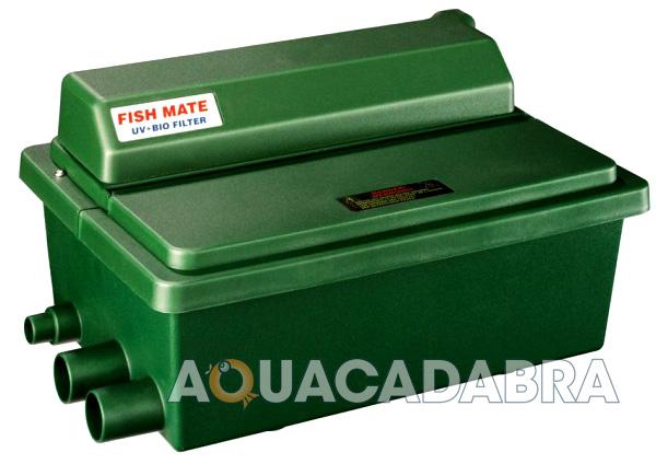 Fish mate guv uv bio media gravity filter fish koi garden for Koi pond pool filter