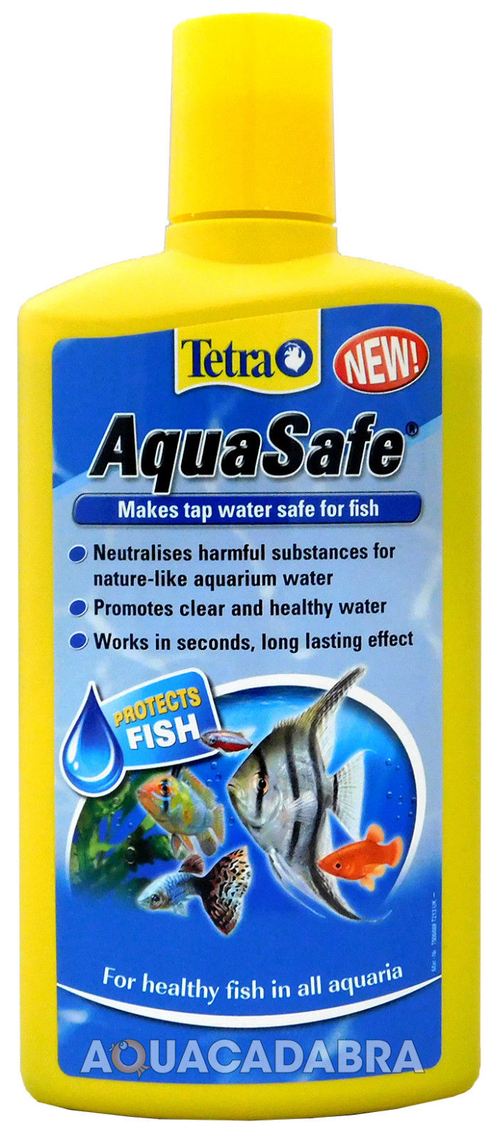 3x 500ml tetra aquasafe tap safe water conditioner for Dechlorinator for fish