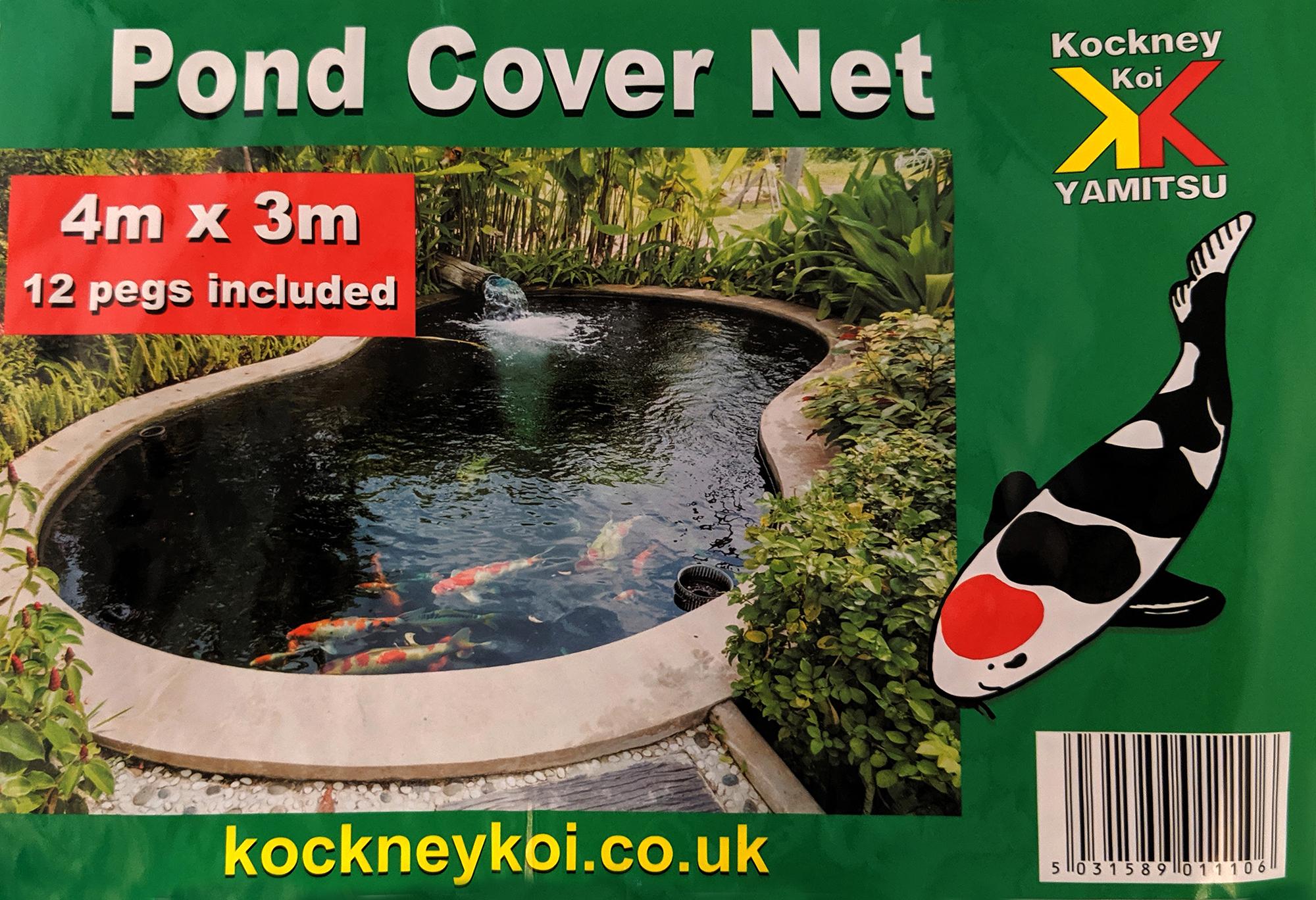 Pond Cover Net Pegs Garden Koi Fish Pond Pool Netting Heron Fox Protector