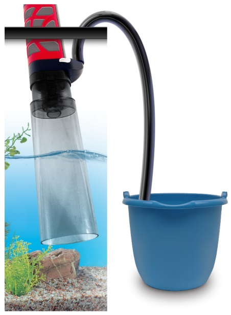 Fluval Aquavac Aquarium Gravel Cleaner Water Tank Vac