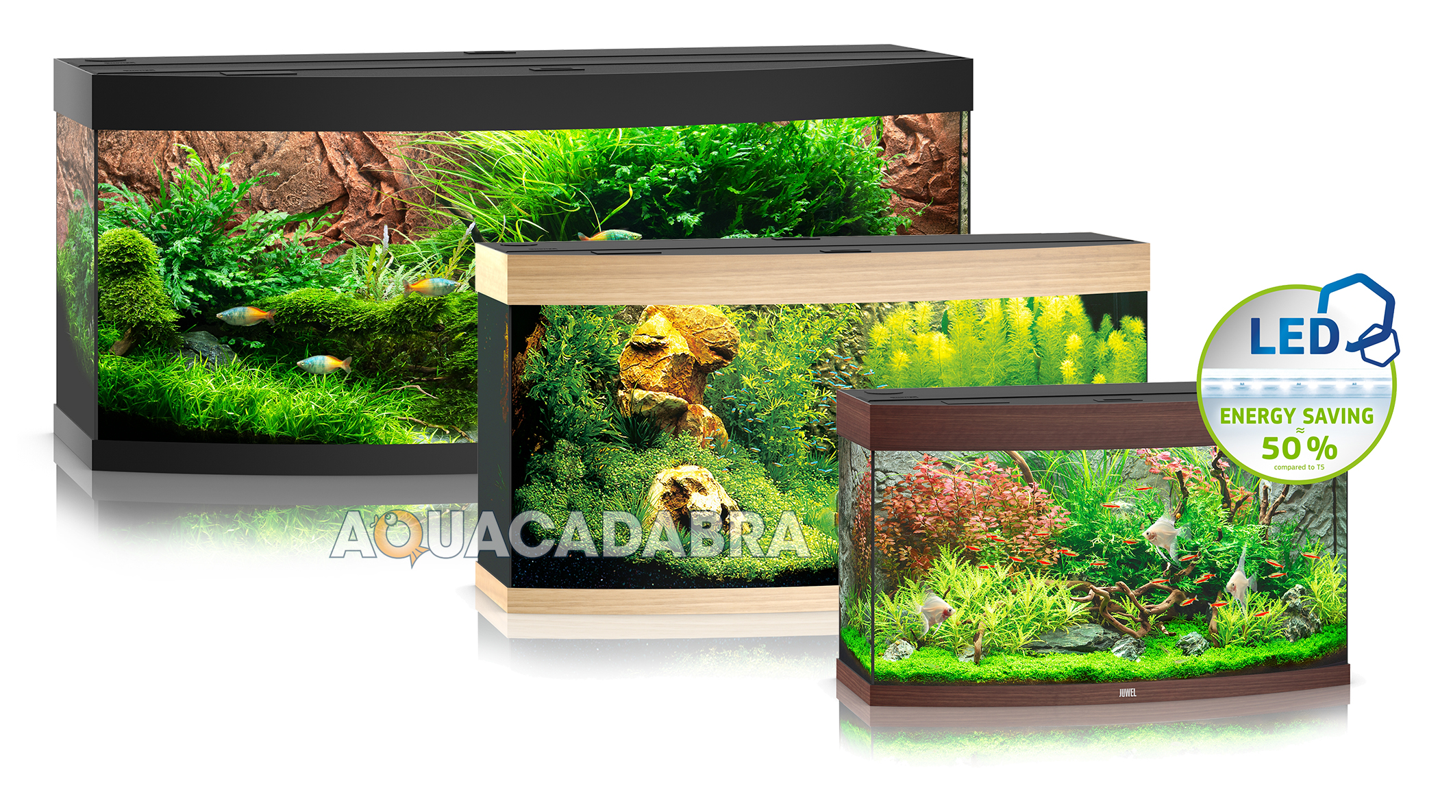 Juwel led aquariums rio lido trigon vision fish tanks for Juwel aquarium