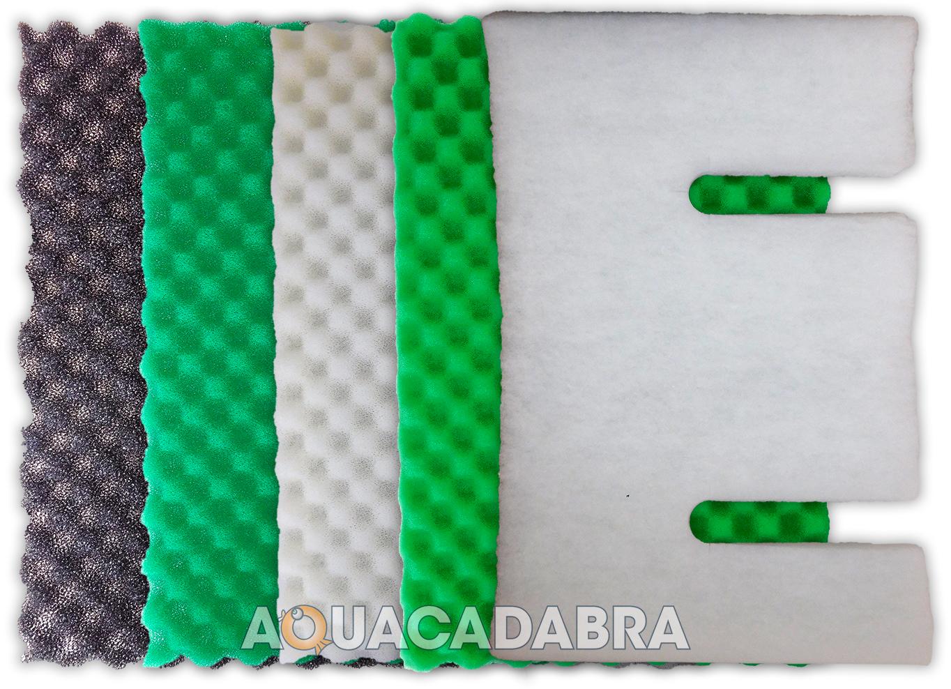 Replacement kockney koi mega box fish filter sponge foam for Foam on fish pond