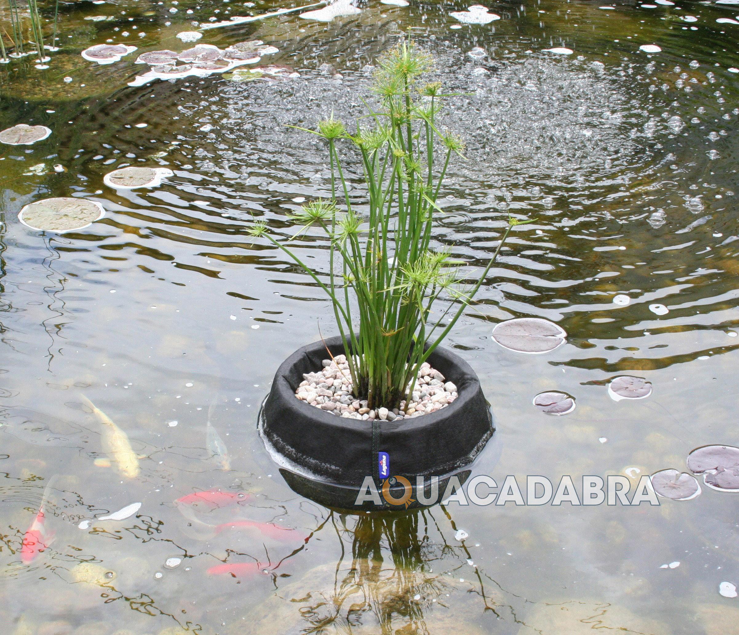 """LAGUNA 13"""" 35CM FLOATING PLANT BASKET FOR GARDEN FISH POND"""