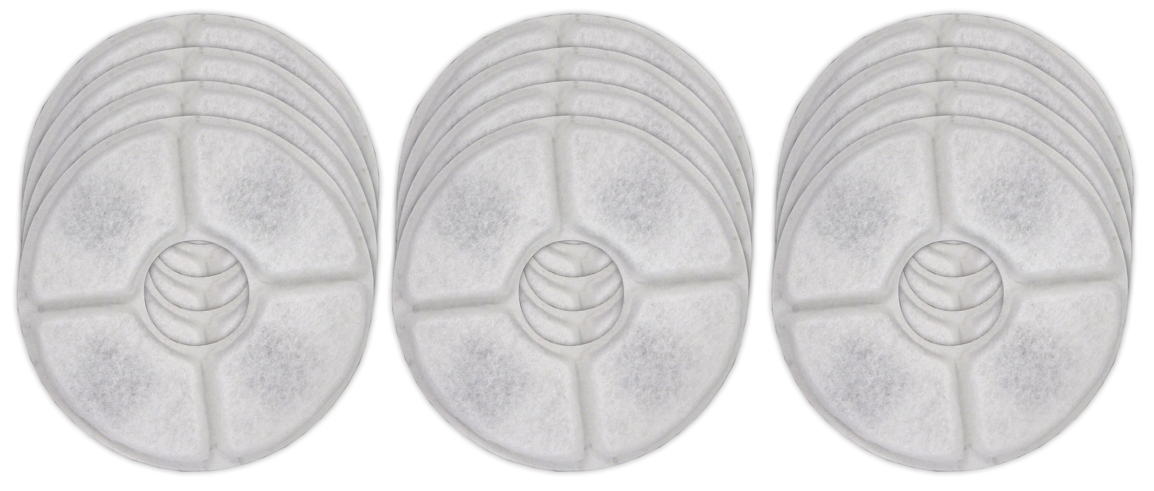 Pet Water Fountain Filter Pads With Active Carbon Cat Dog