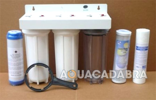 10 Dechlorinator 3 Stage Water Purifier For Ponds Or