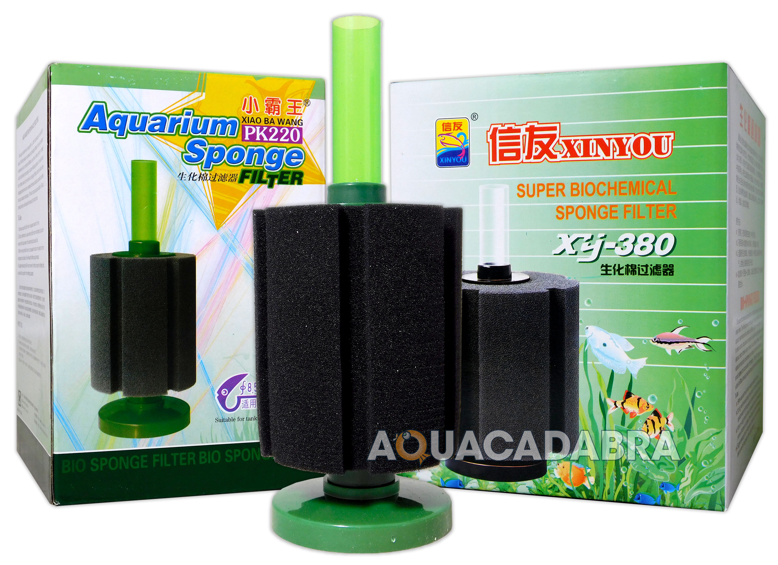 Aquacadabra bio foam sponge filters in aquarium breeding for Fish tank filtration