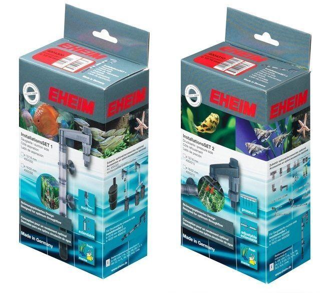 Eheim external fish tank filter installation sets 1 2 12 for Fish tank sets