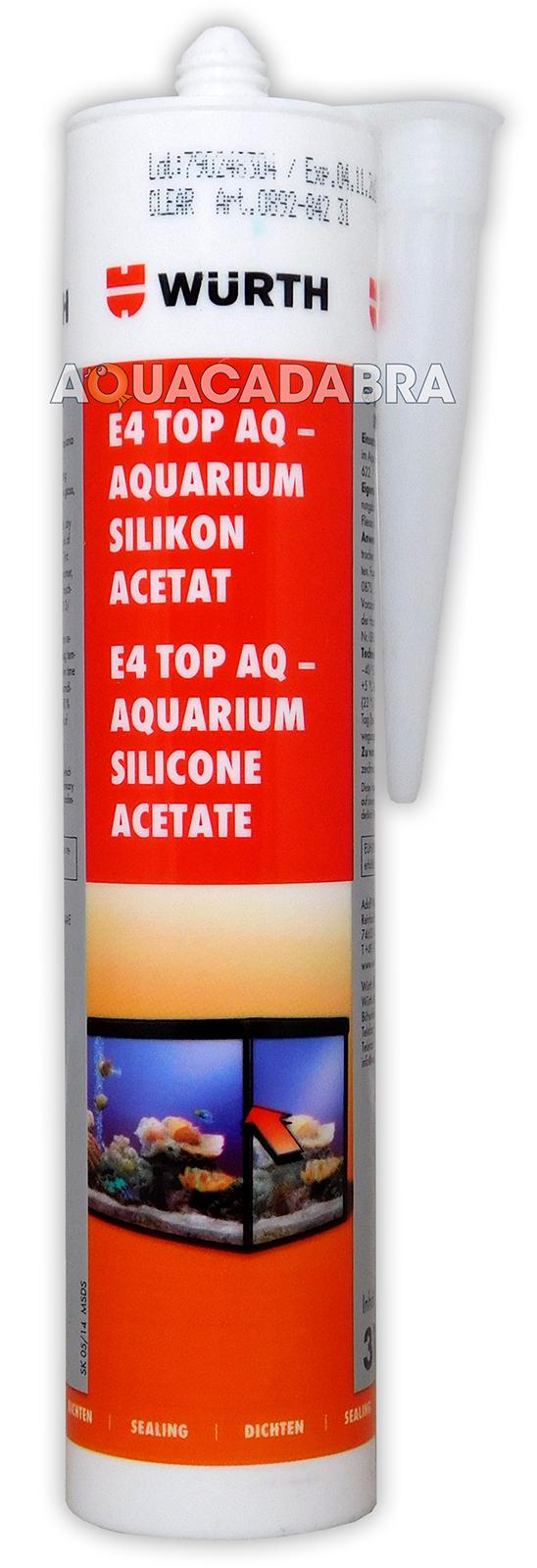 wurth silicone acetate fish tank aquarium clear glass tile pond