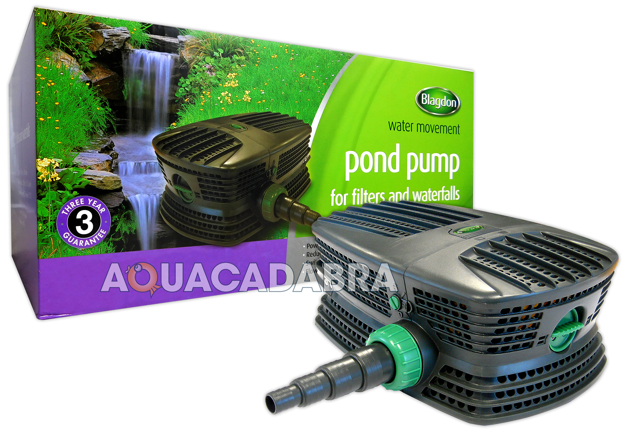 Blagdon force hybrid fh garden fish pond filter pump koi for Koi pond pump and filter
