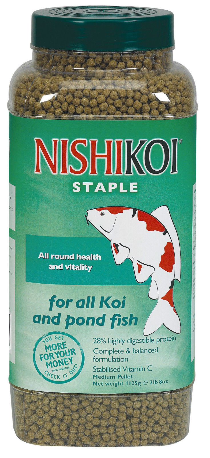 NISHIKOI-STAPLE-FISH-PELLET-FOOD-RANGE-POND-HEALTHY-PROTEIN-KOI-GOLDFISH-GARDEN