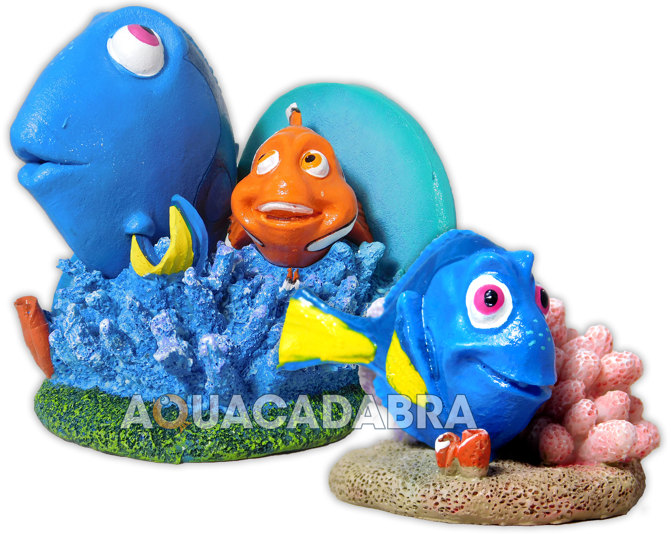 Finding dory aquarium ornaments marlin nemo disney pixar for How to make ice in a fish tank