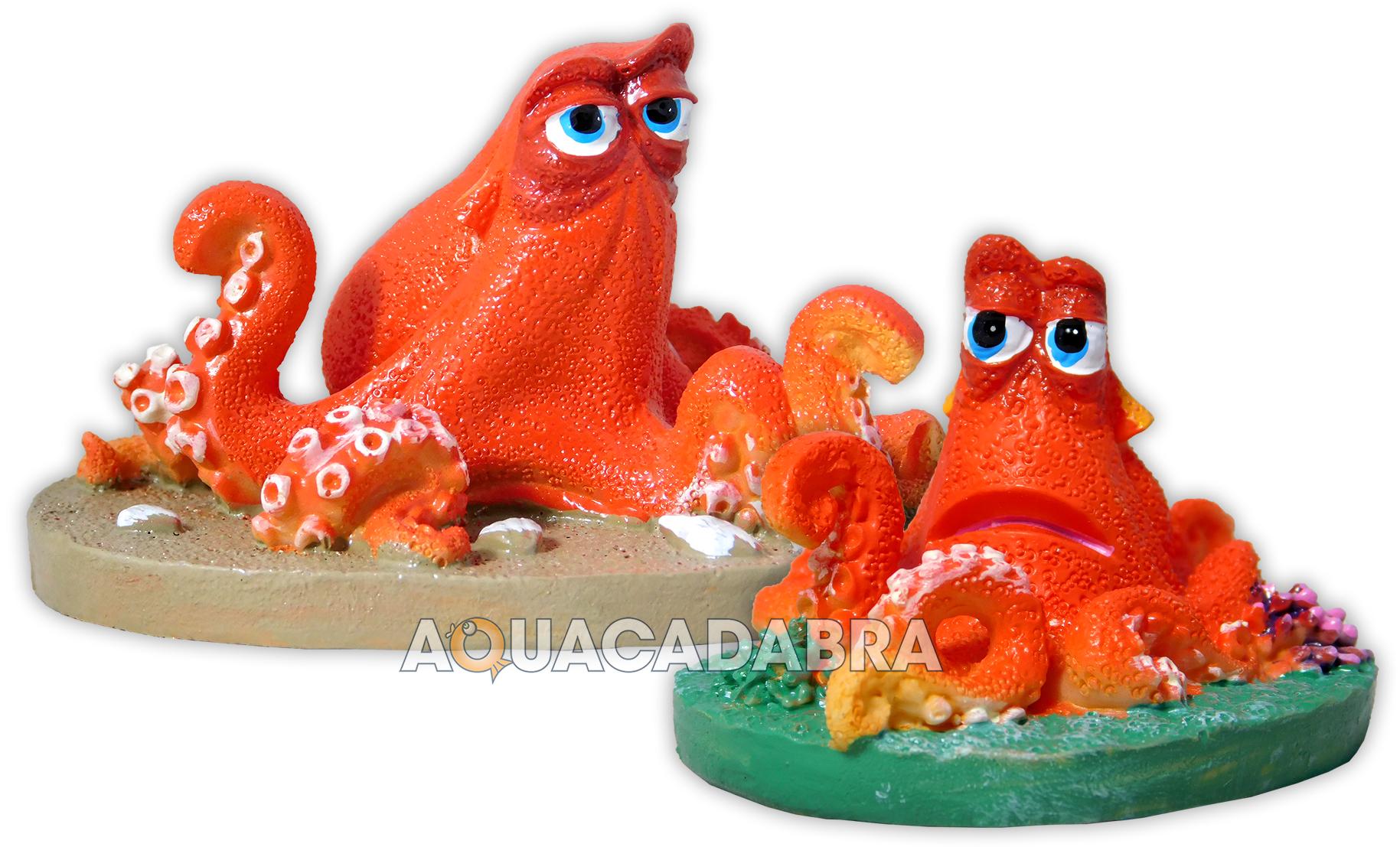 Finding dory hank aquarium ornaments disney pixar fish for Aquarium decoration sealant