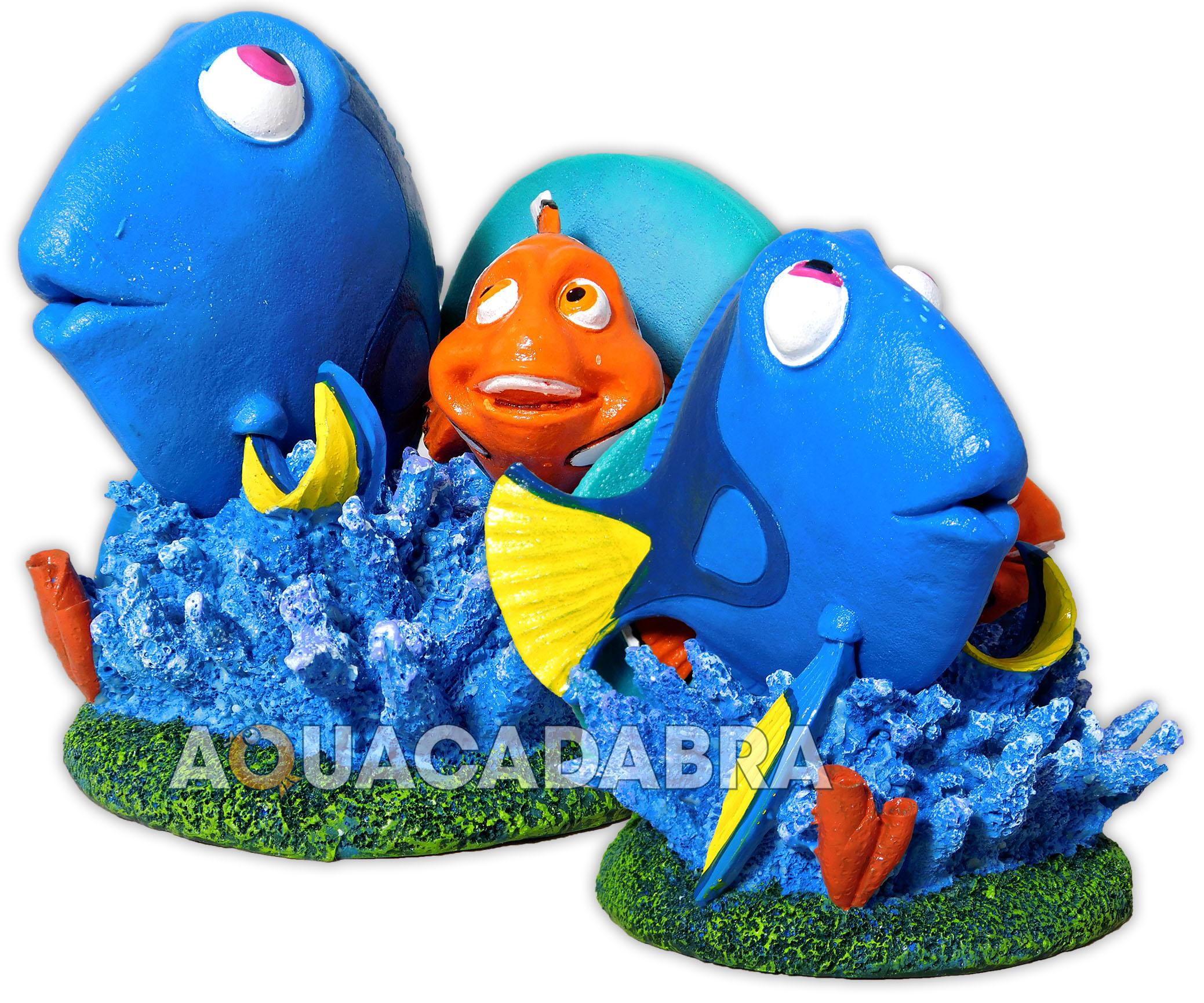 Finding dory aquarium ornaments marlin nemo disney pixar for Aquarium decoration sealant