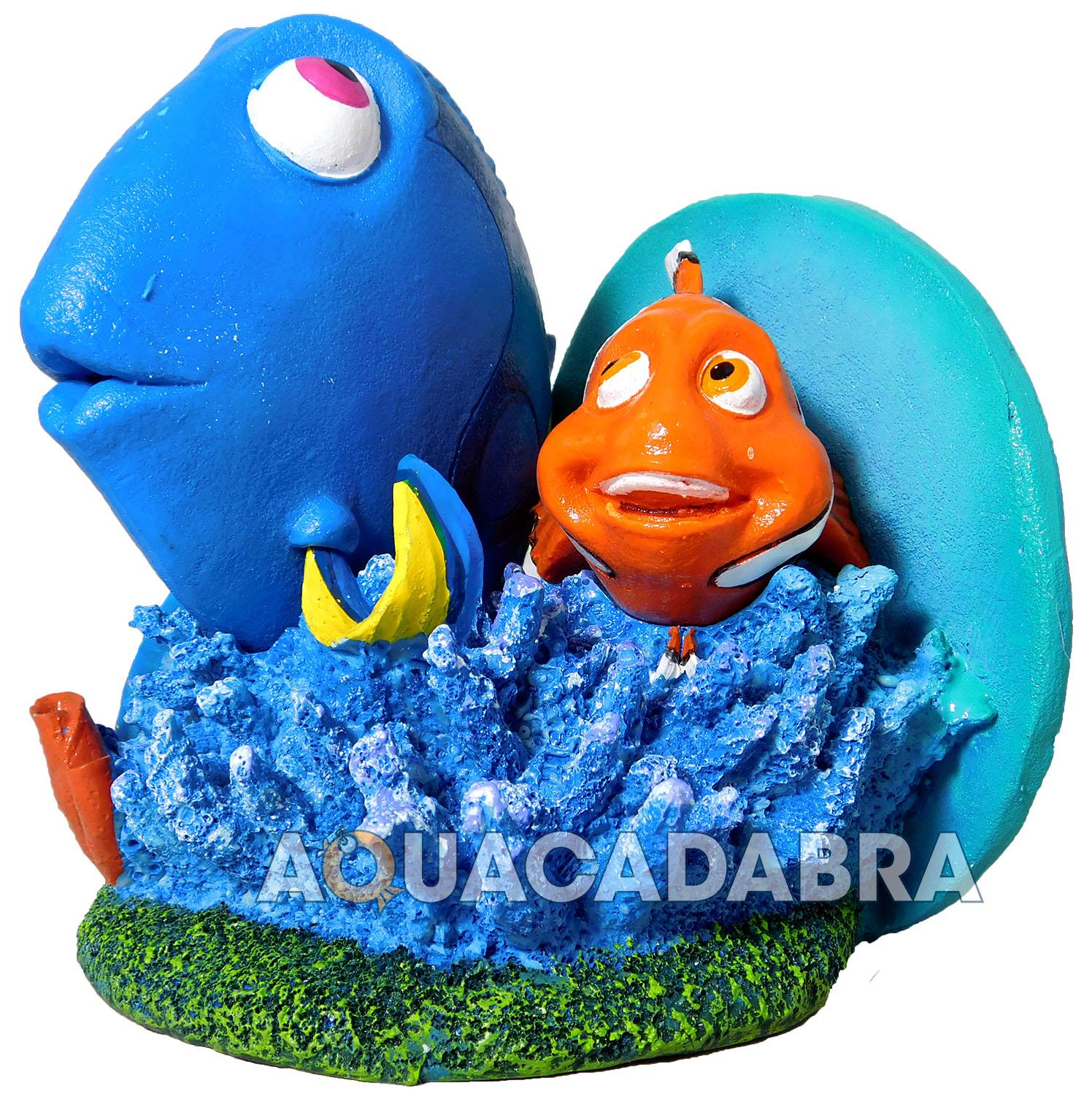 Finding dory aquarium ornaments marlin nemo disney pixar for Nemo decorations