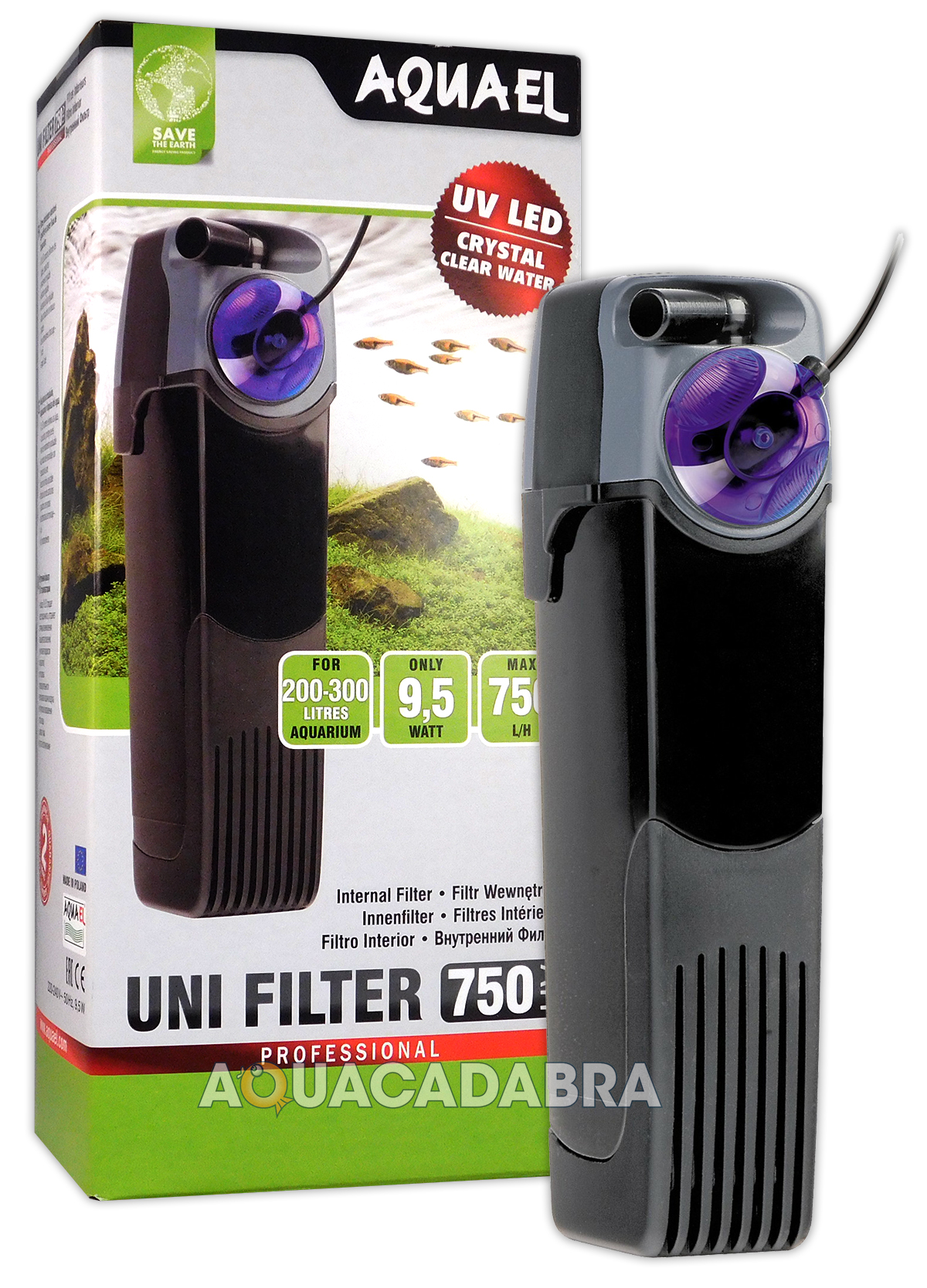 aquael unifilter uv internal filters 500 750 1000 for aquariums ebay. Black Bedroom Furniture Sets. Home Design Ideas