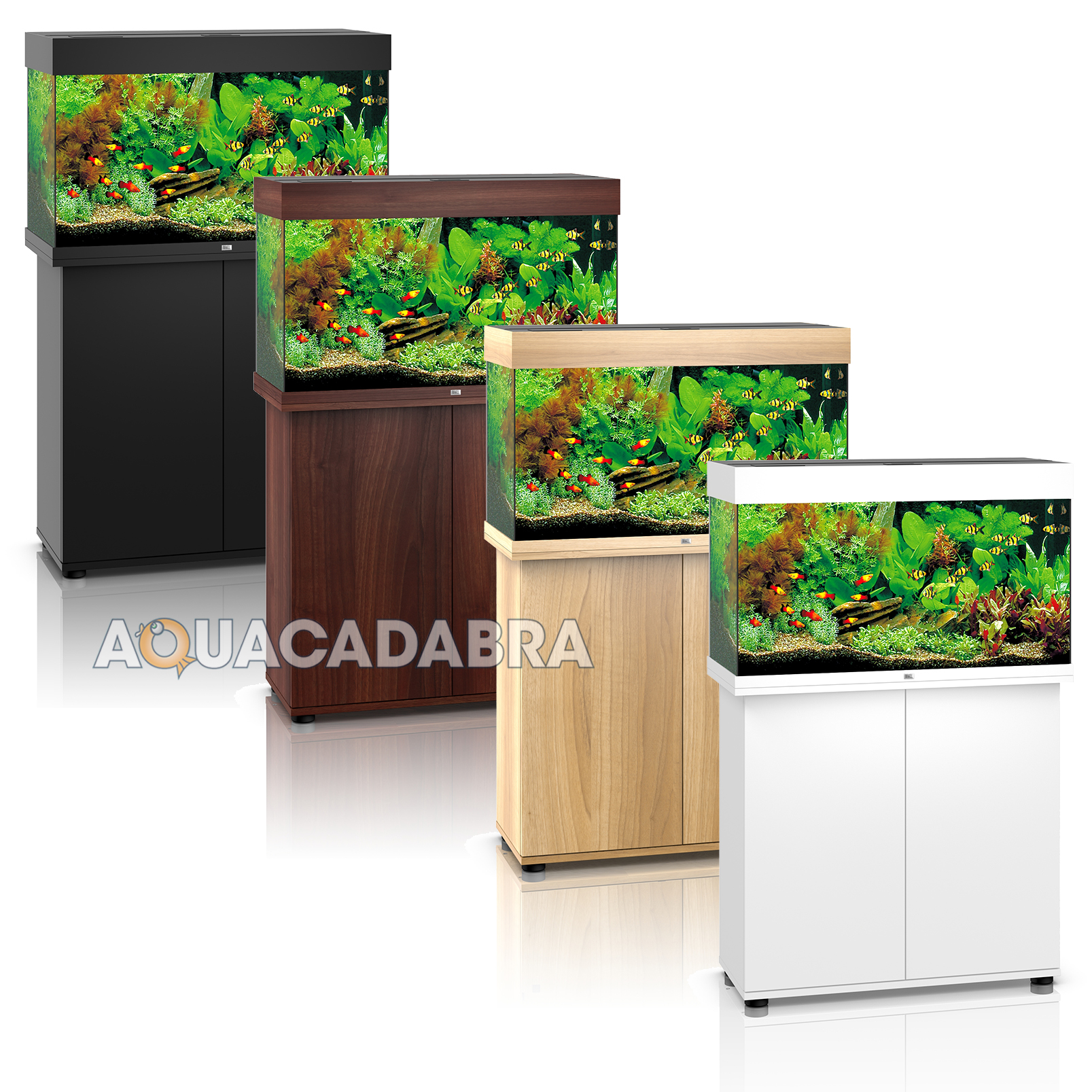 juwel rio 125 led aquarium cabinet led lighting filter heater. Black Bedroom Furniture Sets. Home Design Ideas
