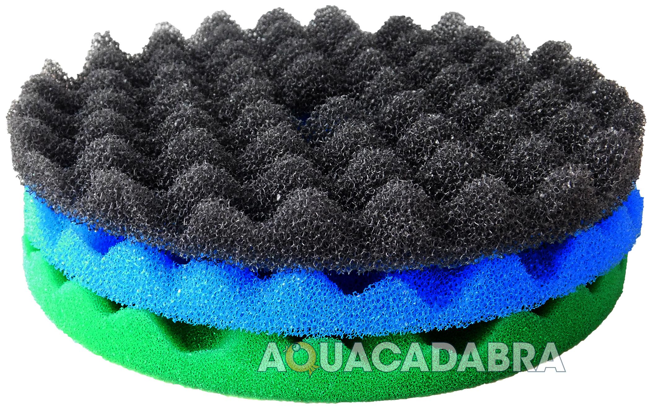 Cloverleaf cl1 cl2 cl3 replacement fish pond foam filter for Fish pond filter sponges