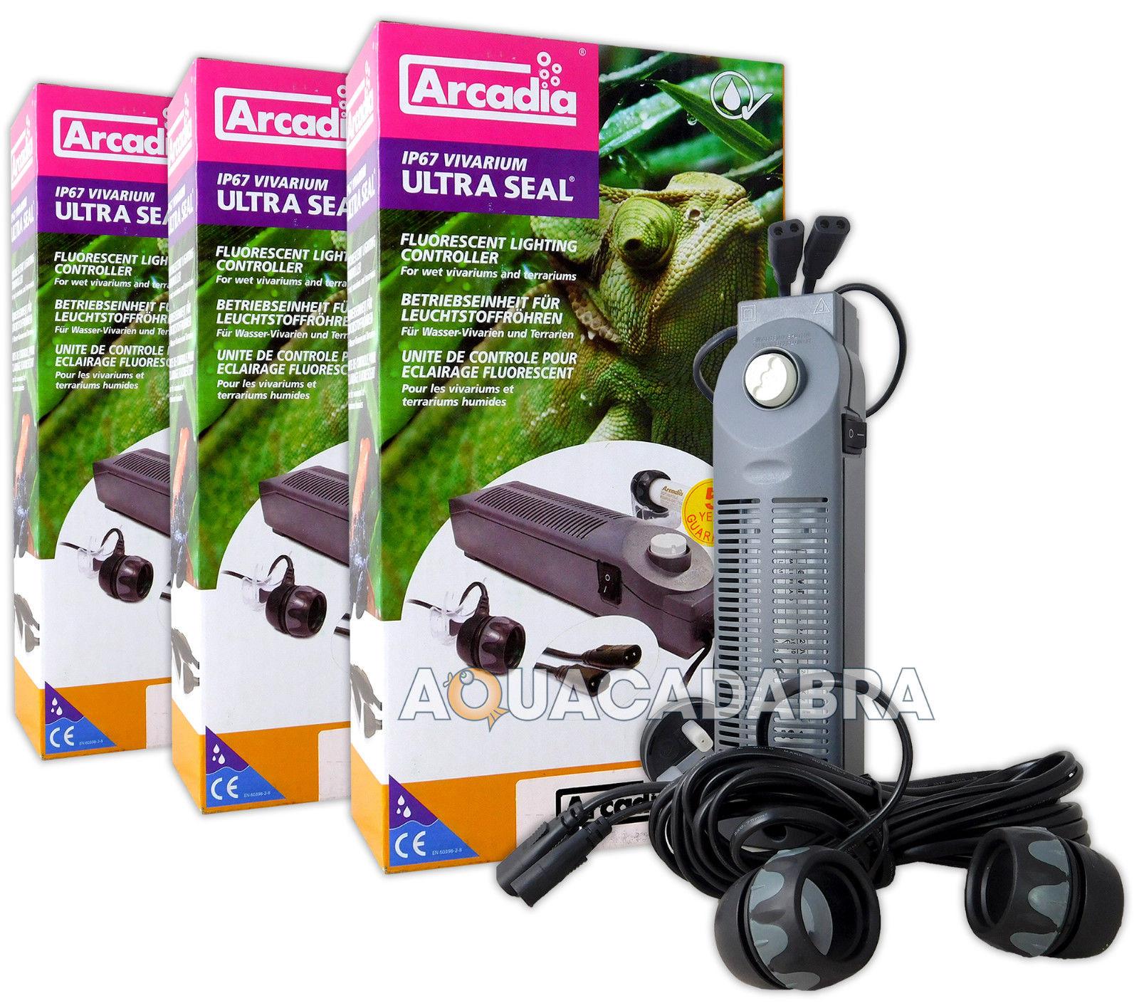 Arcadia T5 T8 Ultra Seal Lamp Controller Ip67 Light: ARCADIA ULTRA SEAL T8 FLUORESCENT LIGHTING CONTROLLER IP67