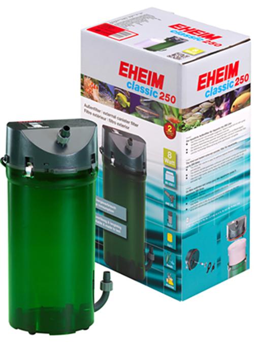 eheim classic 250 plus external power filter 2213 media fish tank aquarium ebay. Black Bedroom Furniture Sets. Home Design Ideas