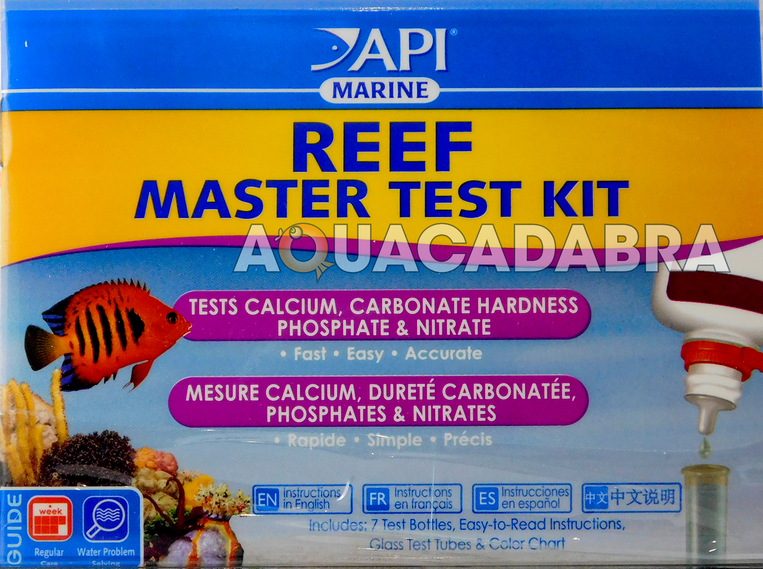 Api reef master liquid test kit for marine coral reef aquarium api reef master liquid test kit for marine coral reef aquarium fish tank nvjuhfo Gallery