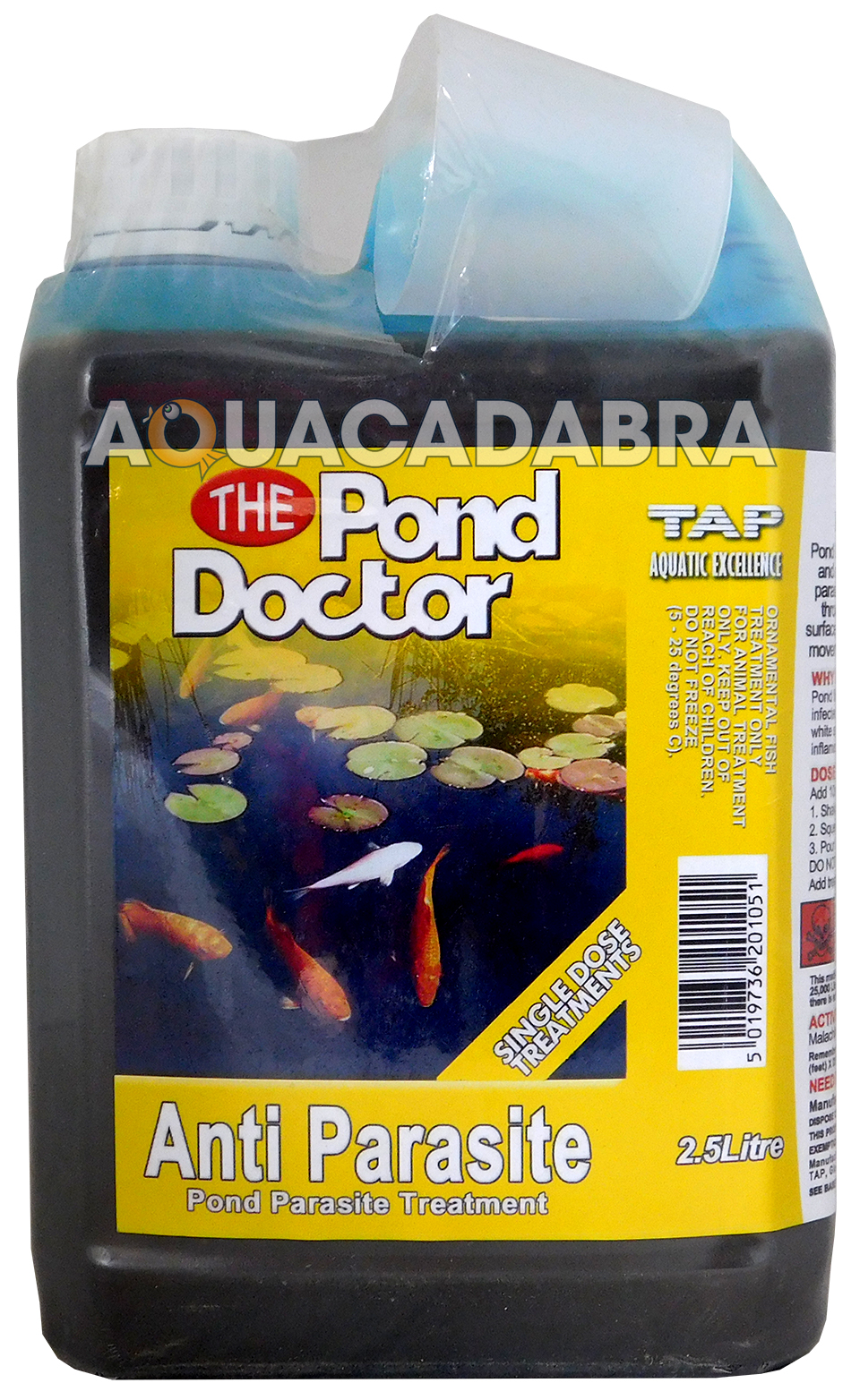 Tap pond doctor anti parasite water treatment garden koi for How to make tap water safe for fish