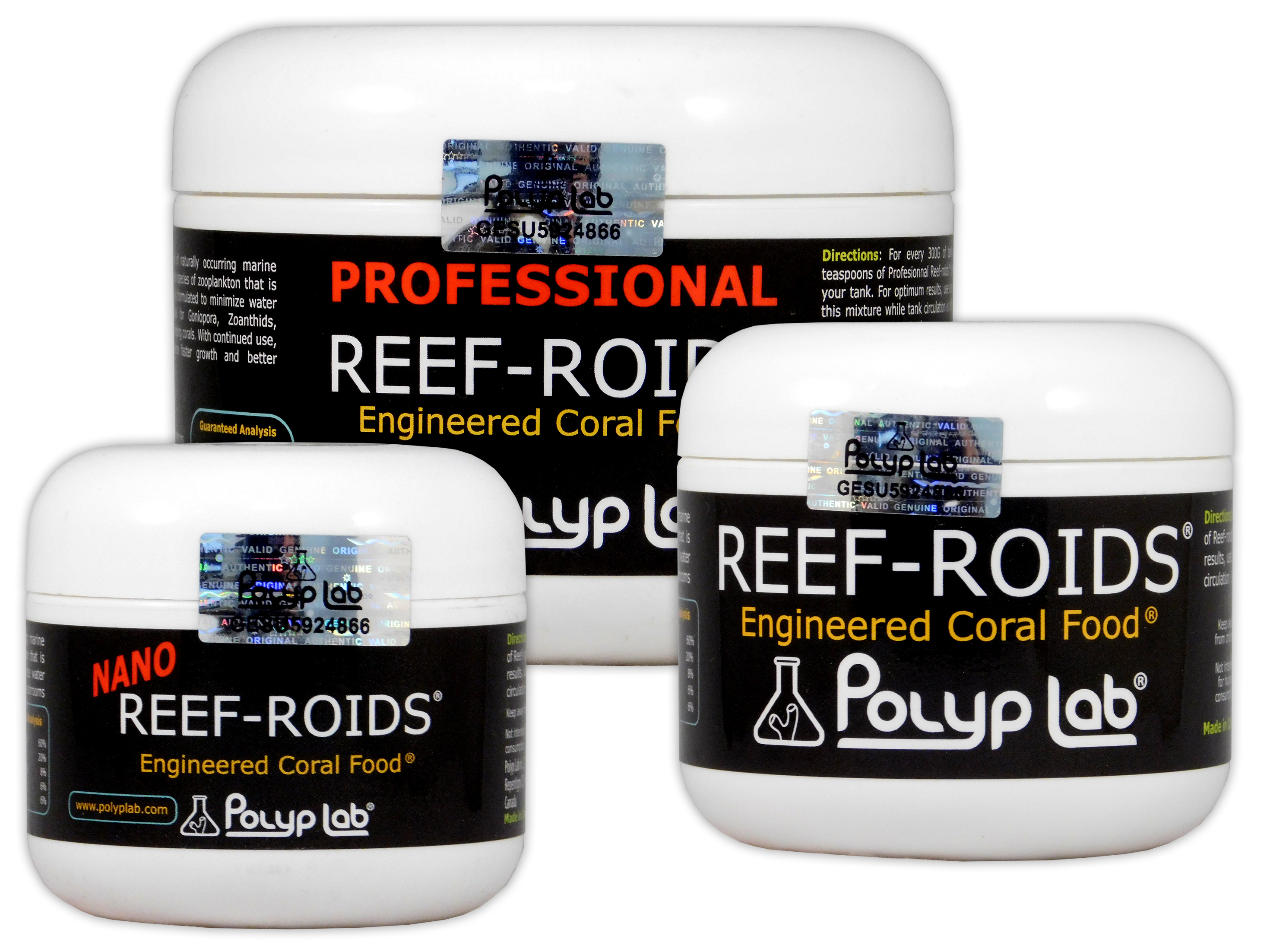 POLYP LAB REEF ROIDS FILTER FOOD CORAL ZOAS PLANKTON MARINE REEF