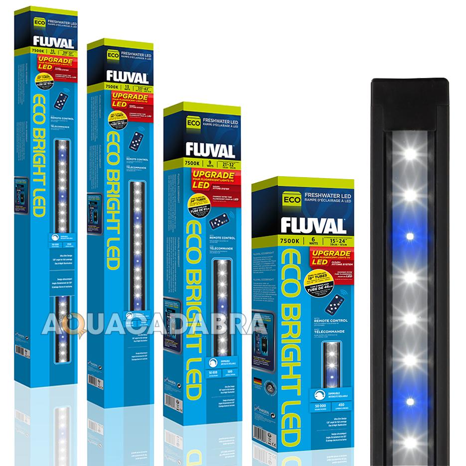 FLUVAL ECO BRIGHT FRESHWATER WHITE LED LIGHTING STRIP LIGHT FISH ...