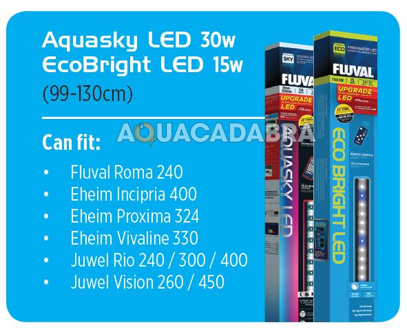 Fluval Eco Bright Freshwater White Led Lighting Strip