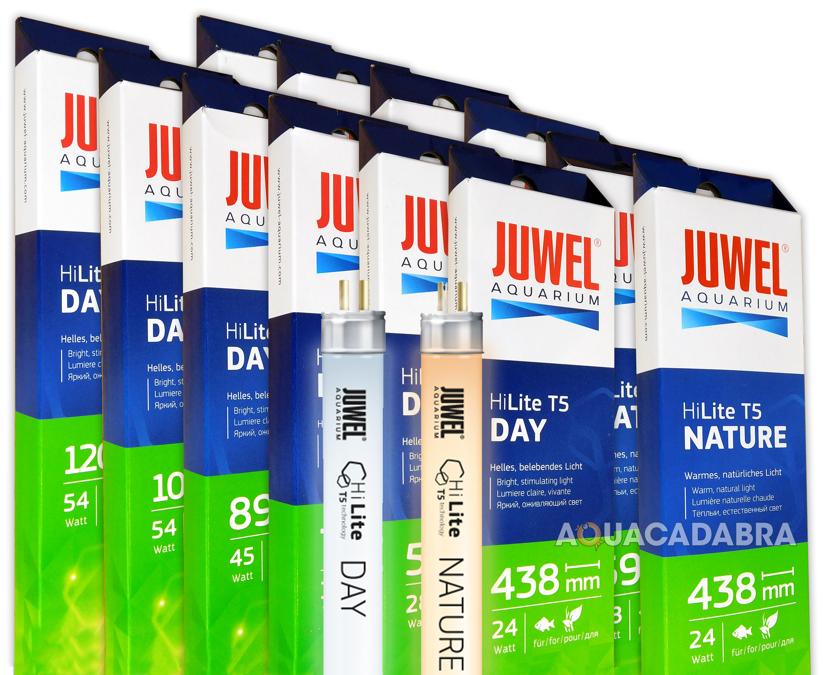 Juwel High Lite T5 Combo Deal Day And Nature Bulb Light