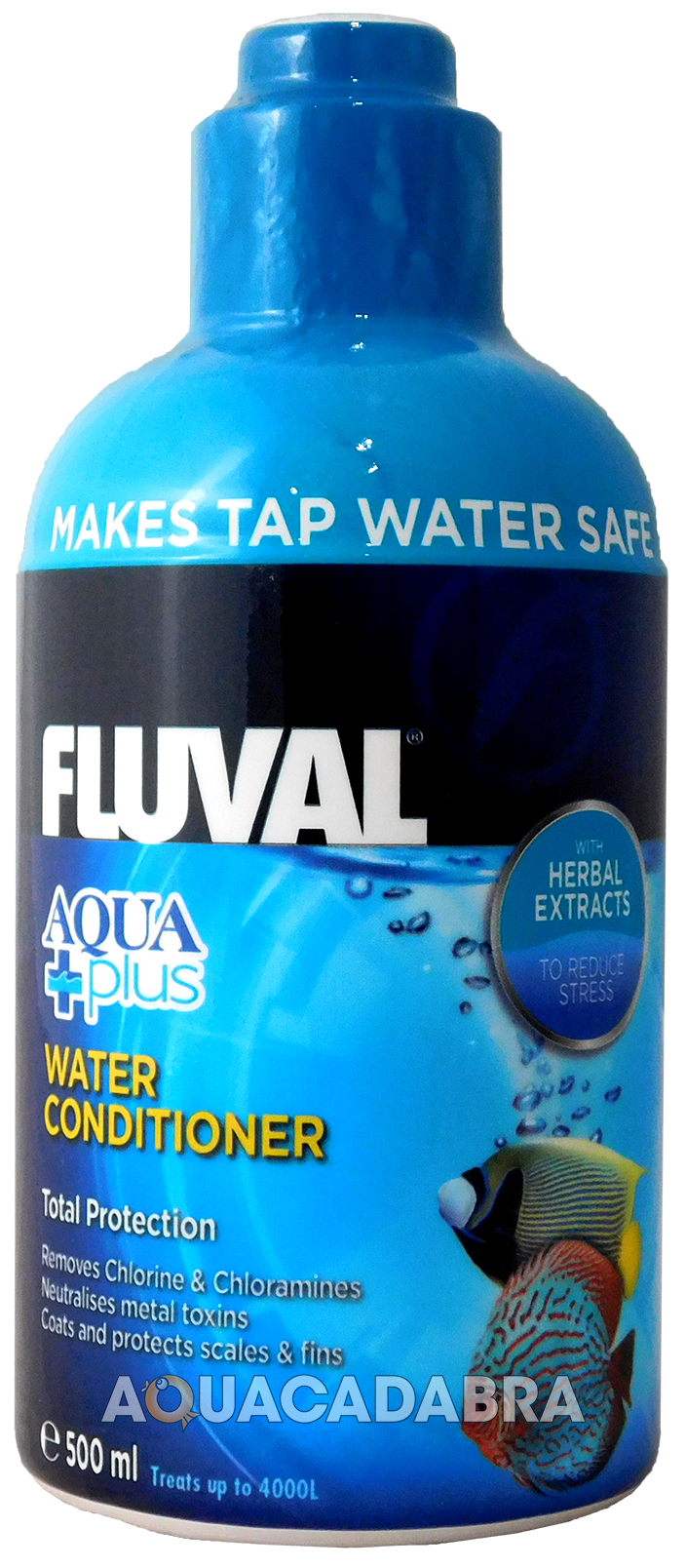 Fluval aqua plus water conditioner new fish tank tap safe for Fish tank water conditioner