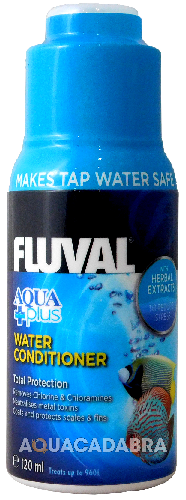 Fluval aqua plus water conditioner new fish tank tap safe for How to make tap water safe for fish