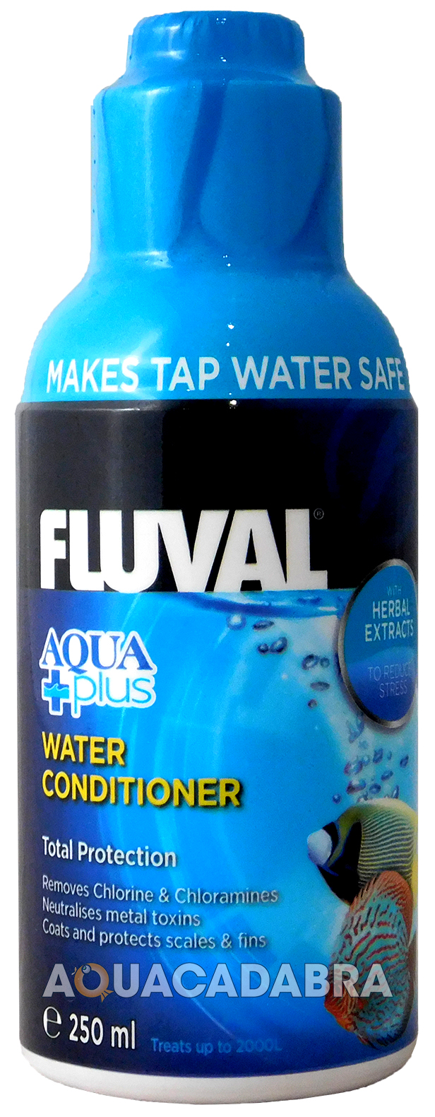 FLUVAL AQUA PLUS WATER CONDITIONER NEW FISH TANK TAP SAFE FRESHWATER NUTRAFIN | eBay