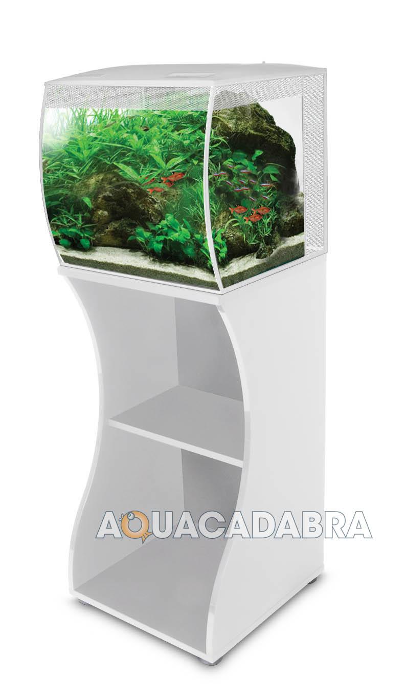 Fluval Flex 57l White Led Aquarium Amp Cabinet Stand Nano