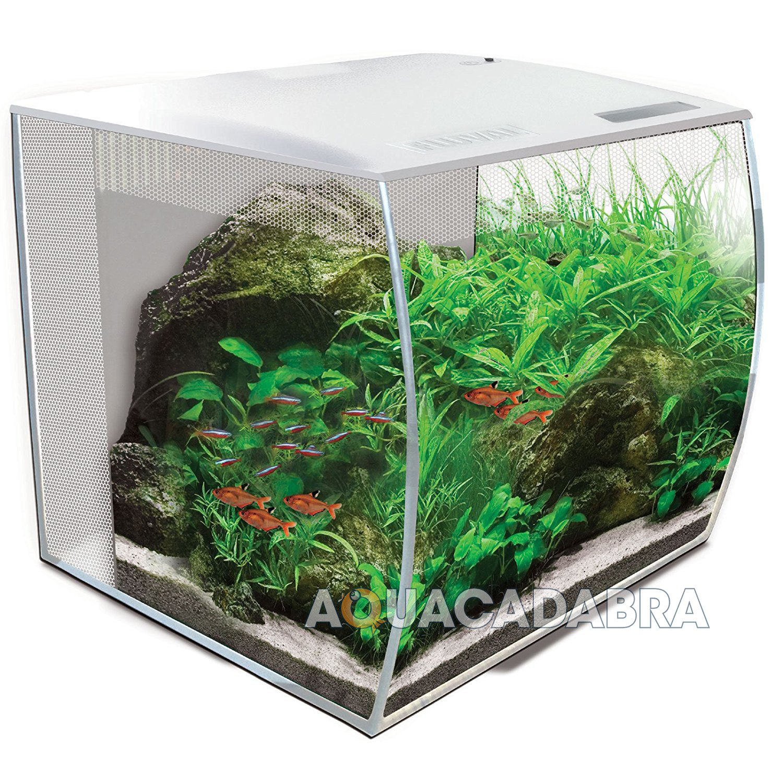 Fluval Flex White LED 34L 57L Aquarium Nano Bowfront Fish Tank