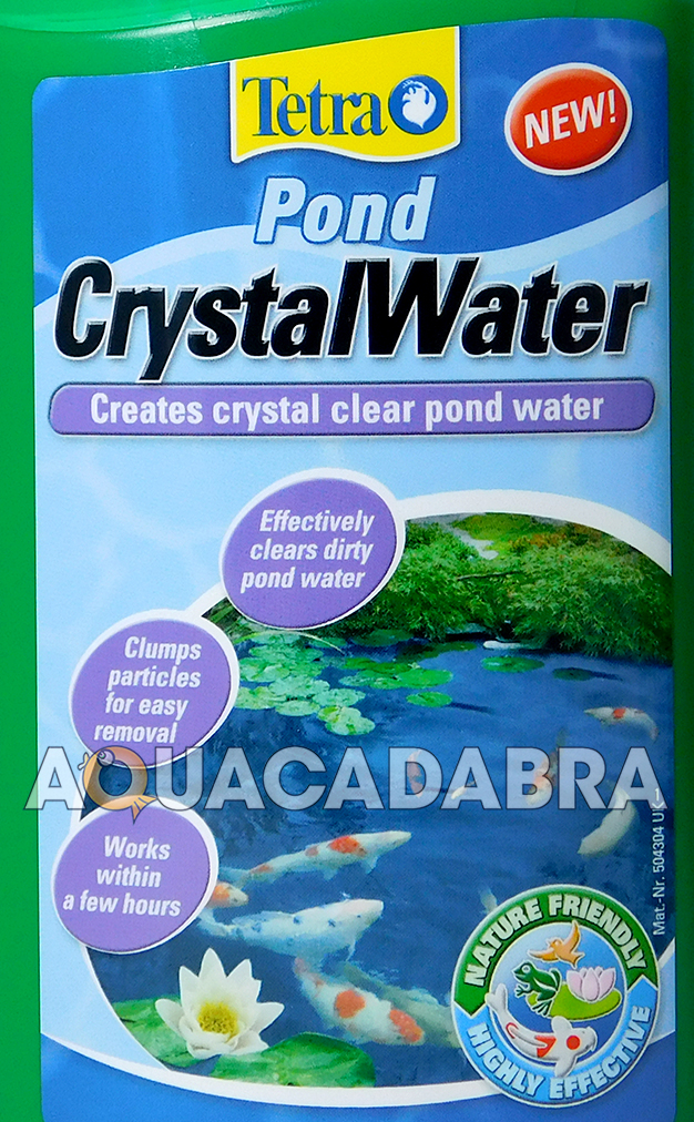 Tetra crystal water clear pond fish treatment 500ml koi for Koi pond water murky