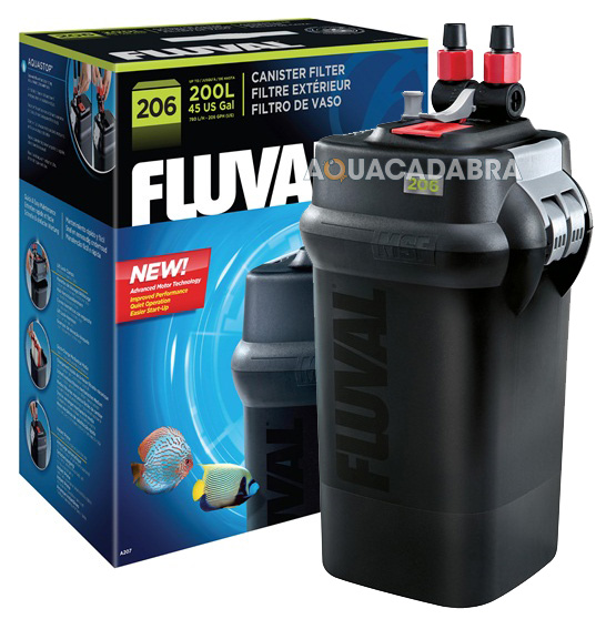 how to clean fluval 306