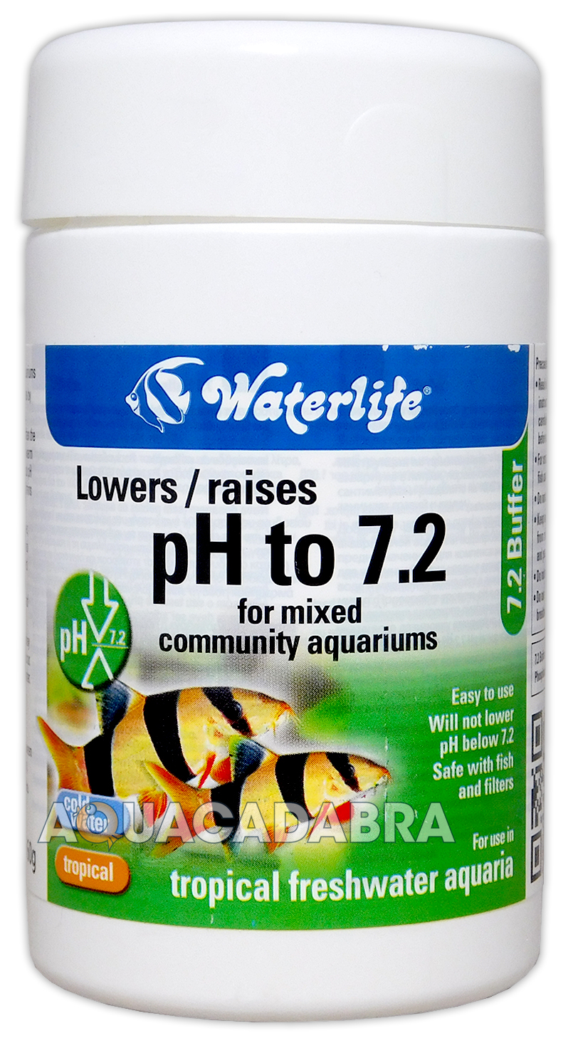 Waterlife 7 2 buffer 160g lowers or raises ph in tropical for How to lower ph in fish tank