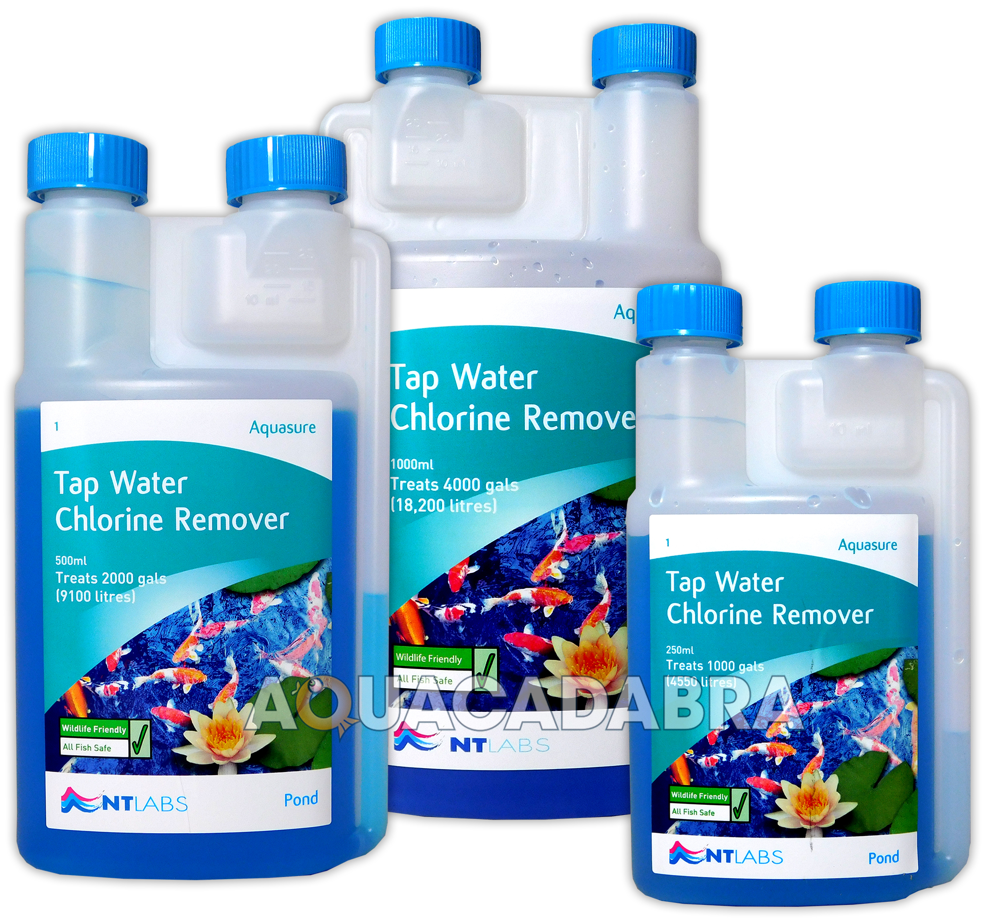 Nt Labs Aquasure Fish Pond Tap Water Conditioner Chlorine