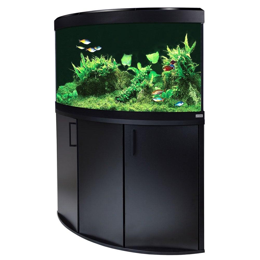 Fluval Venezia 190 Led Aquarium Amp Cabinet Set Corner Oak