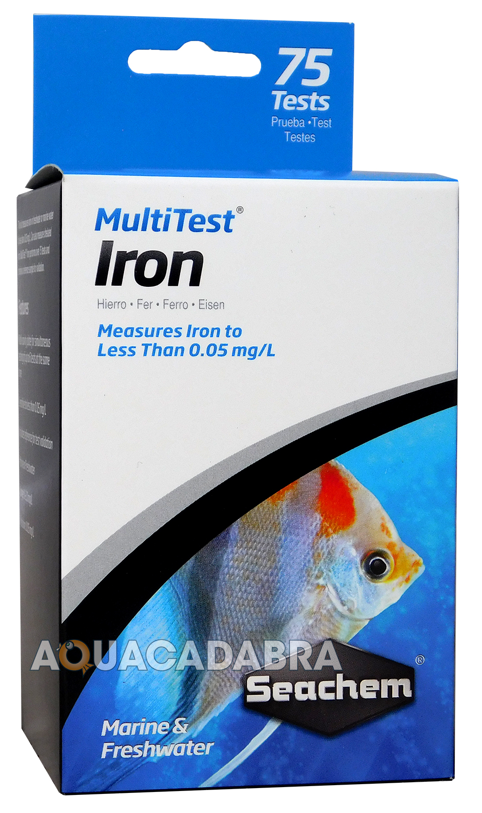 seachem multi tests 75 test kits marine reef freshwater aquarium fish tank ebay. Black Bedroom Furniture Sets. Home Design Ideas